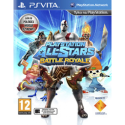 PLAYSTATION ALL-STARS BATTLE  ROYALE [POL] (używana) (PSV)