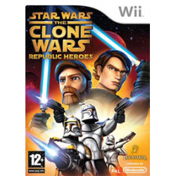 Star Wars The Clone Wars - Republic Heroes [ENG] (używana) (Wii)