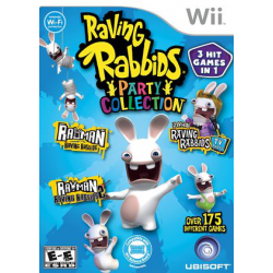 raving rabbids: party collection [ENG] (używana) (Wii)