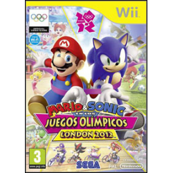 Mario & Sonic at the London 2012 Olympic Games [ENG] (używana) (Wii)