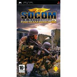 SOCOM U.S. Navy SEALs Fireteam Bravo 2 [ENG] (używana) (PSP)