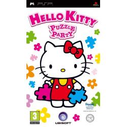 Hello Kitty Puzzle Party [ENG] (używana) (PSP)