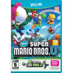 New Super Mario Bros. U + Luigi U [ENG] (nowa) (WiiU)