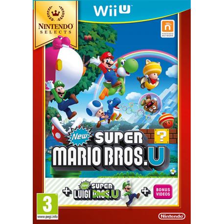 New Super Mario Bros. U + Luigi U (Nintendo Selects) [ENG] (nowa) (WiiU)