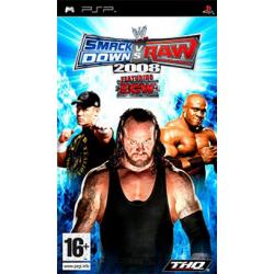 WWE SmackDown! vs. Raw 2008 [ENG] (używana) (PSP)