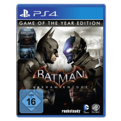 BATMAN ARKHAM KNIGHT GAME OF THE YEAR EDITION [POL] (nowa) PS4