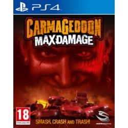CARMAGEDDON MAX DAMAGE [POL] (używana) PS4