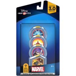 Disney Infinity 3.0 Marvel Battlegrounds Power Disc Pack (nowa)