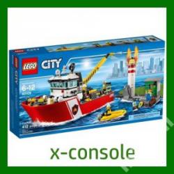 KLOCKI LEGO CITY  60109 ŁÓDŻ STRAŻACKA (nowa)