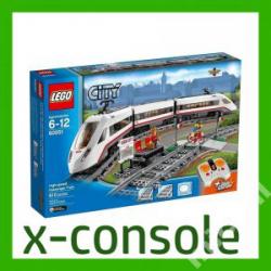KLOCKI LEGO CITY 60051 SUPERSZYBKI POCIĄG OSOBOWY(nowa)