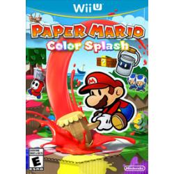 Paper Mario: Color Splash (nowa) (WiiU)