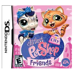 Littlest pet shop City Friends[ENG] (używana) (NDS)