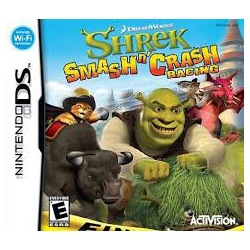 shrek smash n' crash racing[ENG] (używana) (NDS)