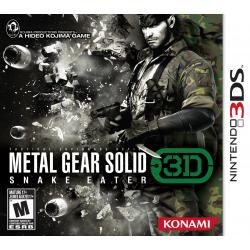 metal gear solid 3d[ENG] (używana) (3DS)