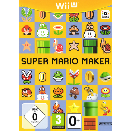Super Mario Maker[ENG] (używana) (WiiU)