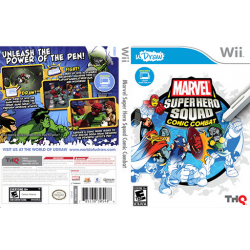 Marvel Super Hero Squad Comic Combat (używana) (Wii)