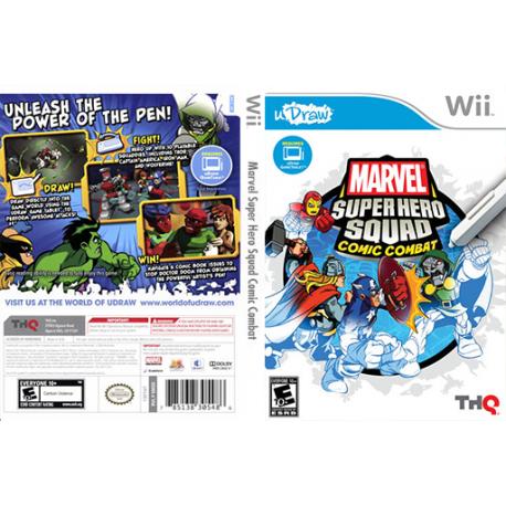 Marvel Super Hero Squad Comic Combat (używana) (Wii)