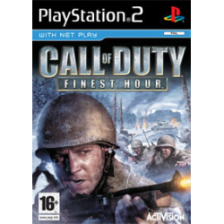 CALL OF DUTY FINEST HOUR [ENG] (Używana) PS2