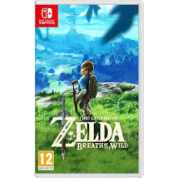 SWITCH THE LEGEND  OF ZELDA: BREATH OF THE WILD  (nowa)