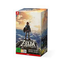 SWITCH THE LEGEND OF ZELDA BOTW LIMITED EDITION ENG] (Limited Edition) (nowa)