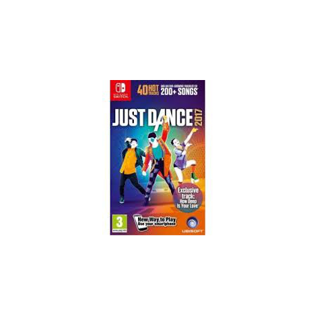 SWITCH JUST DANCE 2017 [ENG] (nowa)