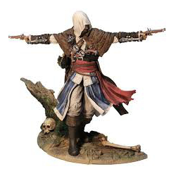 FIGURKA ASSASSIN'S CREED IV BLACK FLAG EDWARD KENWAY : THE ASSASSIN PIRATE (Limited Edition) (używana)