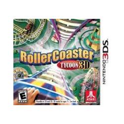 ROLLERCOASTER TYCOON 3D[ENG] (używana)(3DS)