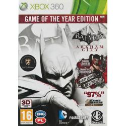 Batman Arkham City GOTY[POL] (nowa) (X360)