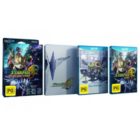 STAR FOX ZERO FIRST PRINT EDITION [ENG][ENG] (Limited Edition) (używana) (WiiU)