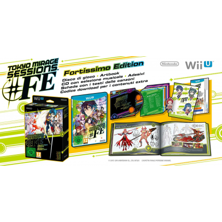 Tokyo Mirage Sessions FE Fortissimo Edition[ENG] (nowa) (WiiU)