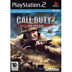 CALL OF DUTY 2 BIG RED ONE [ENG] (Używana) PS2