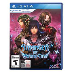 STRANGER OF SWORD CITY[ENG] (nowa) (PSV)