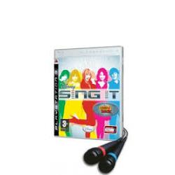 SING IT + MIKROFONY[ENG] (używana) (PS3)