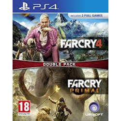 FAR CRY 4 + FARCRY PRIMAL[POL] (nowa) (PS4)