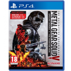 METAL HEAR SOLID V: THE DEFINITIVE EXPERIENCE[ENG] (używana) (PS4)