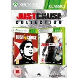 JUST CAUSE COLLECTION[ENG] (używana) (X360)