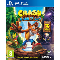 Crash Bandicoot N. Sane Trilogy PREORDER 30.06.17[ENG] (używana) (PS4)