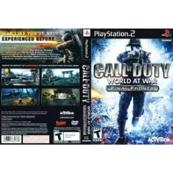 CALL OF DUTY WORLD AT WAR FINAL FRONTS[ENG] (nowa) (PS2)