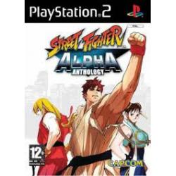 STREET FIGHTER ALPHA ANTHOLOGY[ENG] (używana) (PS2)