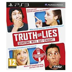 TRUTH OF LIES SOMEONE WILL GET CAUGHT[ENG] (używana) (PS3)