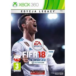 FIFA 18 [POL] (nowa) (X360)