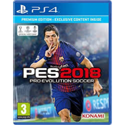 PRO EVOLUTION SOCCER 2018 PREMIUM EDITION[ENG] (nowa) (PS4)