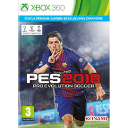 PRO EVOLUTION SOCCER 2018 PREMIUM EDITION[ENG] (nowa) (X360)