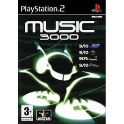 MUSIC 3000[ENG] (używana) (PS2)