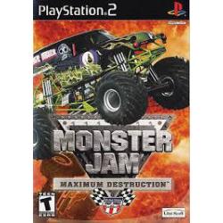 MONSTER JAM MAXIMUM DESTRUCTION[ENG] (używana) (PS2)