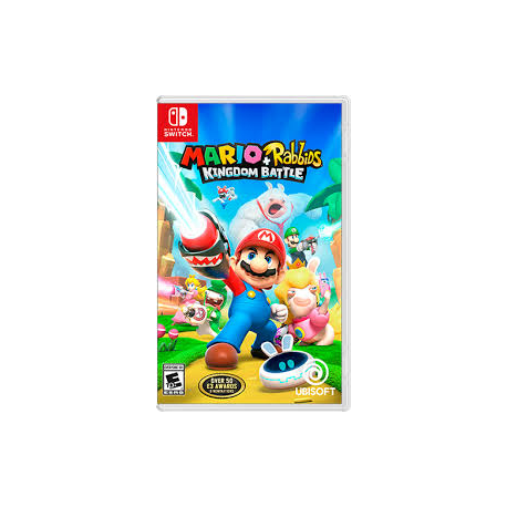 MARIO + RABBIDS KINGDOM BATTLE[ENG] (nowa) (Switch)