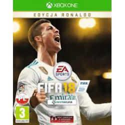 FIFA 18 EDYCJA RONALDO[POL] (nowa) (XONE)