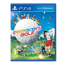 EVERYBODY'S GOLF[ENG] (nowa) (PS4)