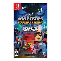 MINECRAFT STORY MODE COMPLETE ADVENTURE[ENG] (nowa) (Switch)