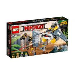 KLOCKI LEGO NINJAGO THE MOVIE 70609 (nowa)